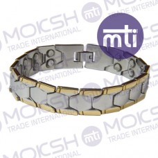 Stainless Steel Double Line Magnetic Bracelet - 001