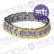 Stainless Steel Double Line Magnetic Bracelet - 004