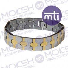 Stainless Steel Double Line Magnetic Bracelet - 006