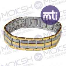 Stainless Steel Double Line Magnetic Bracelet - 008