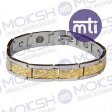 Stainless Steel Single Line Magnetic Bracelet - 001