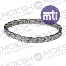 Stainless Steel Single Line Magnetic Bracelet - 004