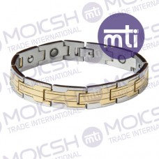 Stainless Steel Single Line Magnetic Bracelet - 007