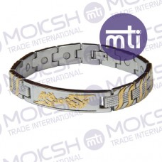 Stainless Steel Single Line Magnetic Bracelet - 008