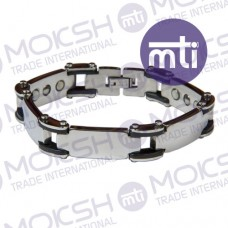 Stainless Steel Single Line Magnetic Bracelet - 012
