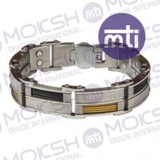 Titanium Double Line Magnetic Bracelet - 002