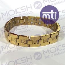 Titanium Double Line Magnetic Bracelet - 005