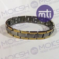 Titanium Double Line Magnetic Bracelet - 006