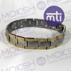 Titanium Double Line Magnetic Bracelet - 007