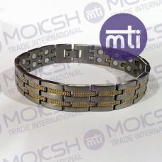 Titanium Double Line Magnetic Bracelet - 008