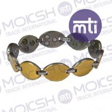 Titanium Double Line Magnetic Bracelet - 004