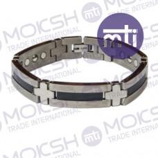 Titanium Single Line Magnetic Bracelet - 005