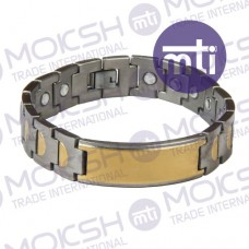 Titanium Single Line Magnetic Bracelet - 007