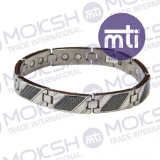Titanium Single Line Magnetic Bracelet - 009