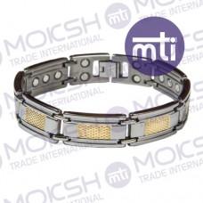 Titanium Single Line Magnetic Bracelet - 011