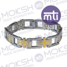 Titanium Single Line Magnetic Bracelet - 012