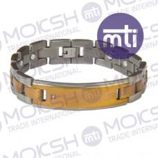 Titanium Single Line Magnetic Bracelet - 013