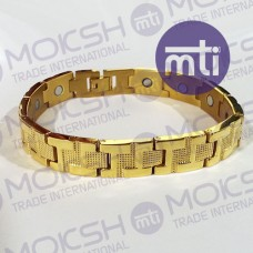Titanium Single Line Magnetic Bracelet - 014