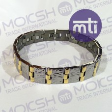 Titanium Single Line Magnetic Bracelet - 015
