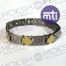 Titanium Single Line Magnetic Bracelet - 017