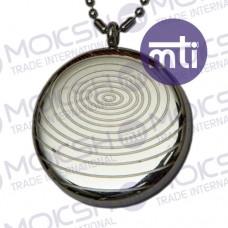 AM Silver Pendant