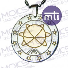 Two Tone MST Energy Pendant