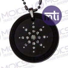 Quantum Pendant with CZ Stone